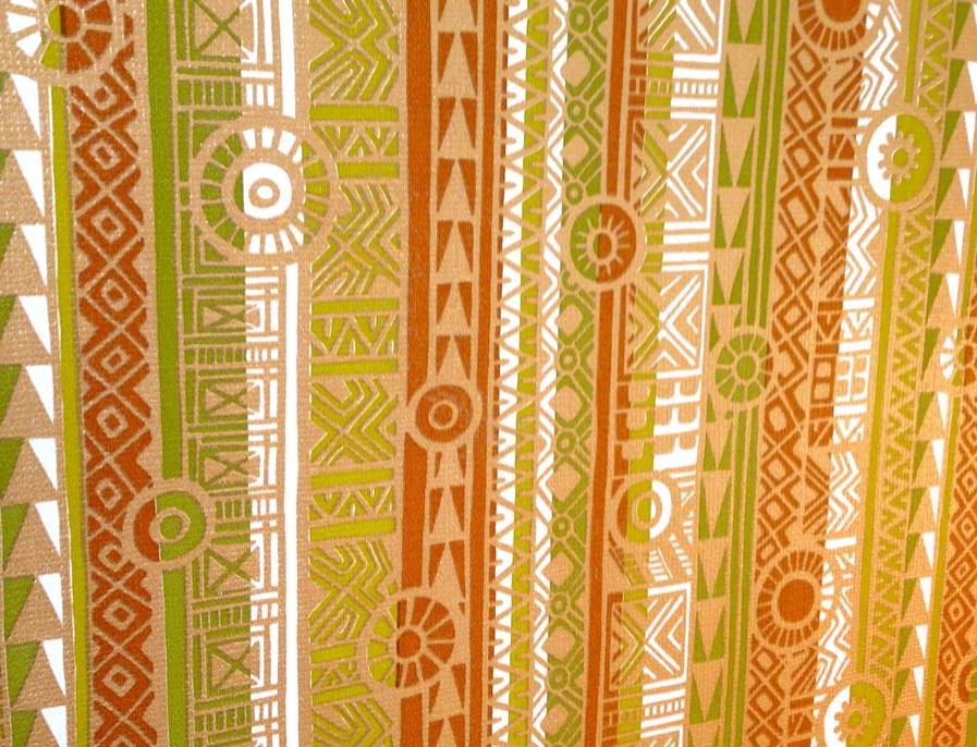 Tiki Inspired Wallpaper Design